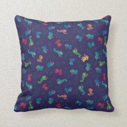 Tangled | Pascal Pattern Throw Pillow