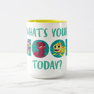 Tangled | Pascal - What's Your Mood Today? Two-Tone Coffee Mug