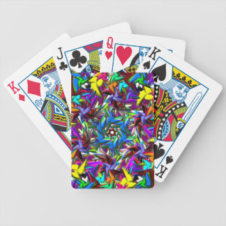 tangled bicycle playing cards