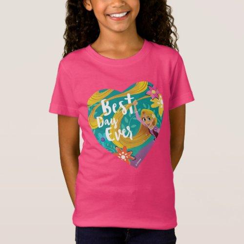 Tangled  Rapunzel _ Best Day Ever T_Shirt