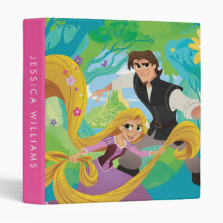 Tangled | Rapunzel & Eugene 3 Ring Binder