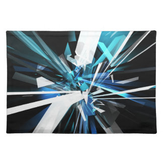 Tangled Rectangles #2 Cloth Placemat