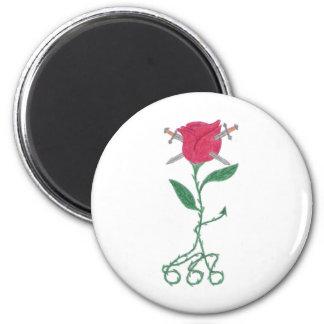 Tangled Rose Magnet