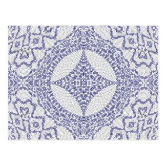 Tangled Tiles Post Card