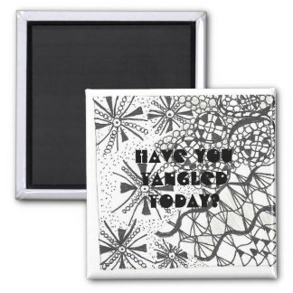 Tangled Today? 2 Inch Square Magnet