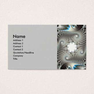 Tangled up in blue business card