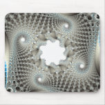 Tangled up in blue mouse pad
