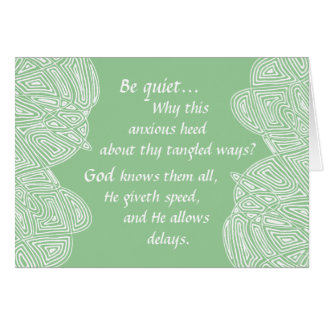 Tangled Ways Card