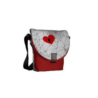 Tangled Web Messenger Bag