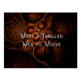 Tangled Web Postcard