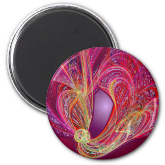 Tangles 2 Inch Round Magnet