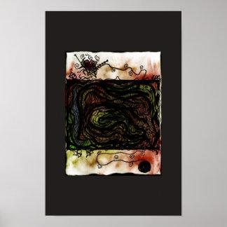 Tangles Print
