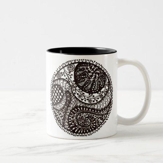 Tangletree One Two-Tone Coffee Mug