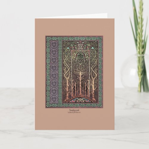 Tanglewood Celtic Art Greeting Card