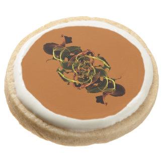 Tanglinga 3 round shortbread cookie