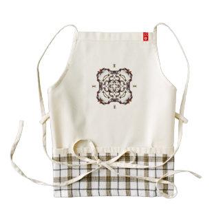 Tanglinga 9 zazzle HEART apron