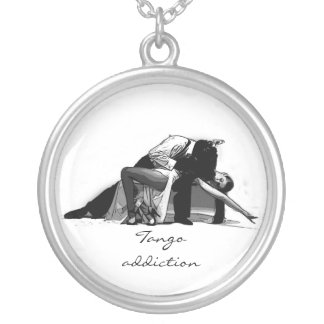 TANGO ADDICTION SILVER PLATED NECKLACE
