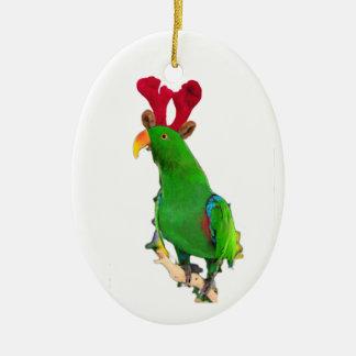 Tango Antlers Ceramic Ornament
