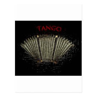 tango argentino. Bandoneon Postal