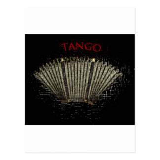 tango argentino. Bandoneon Tarjetas Postales