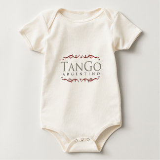 Tango argentino body para bebé