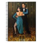Tango Argentino Deco Cuadernos