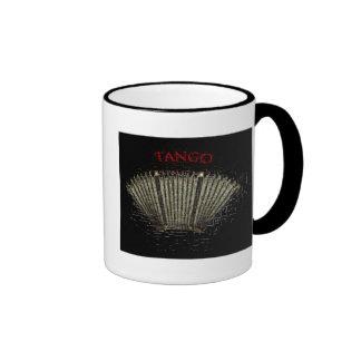 Tango bandoneon coffee mug