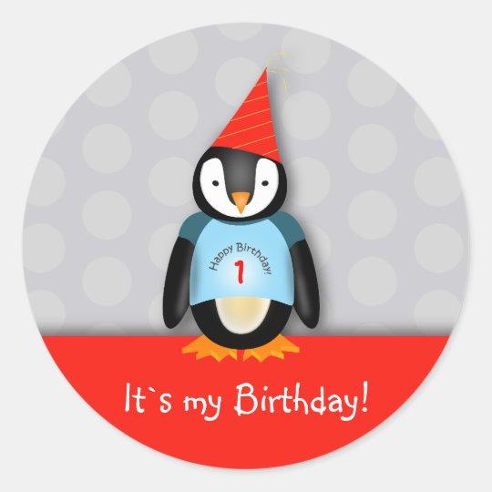 Tango Birthday Sticker
