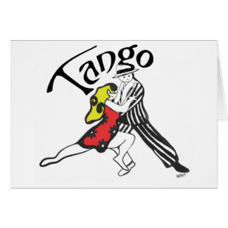 Tango Characters Greeting Cards