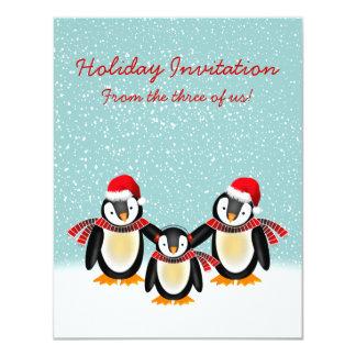 "Tango Christmas Invitation (4.25"" x 5.50"")"