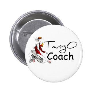 Tango Coach Pinback Button