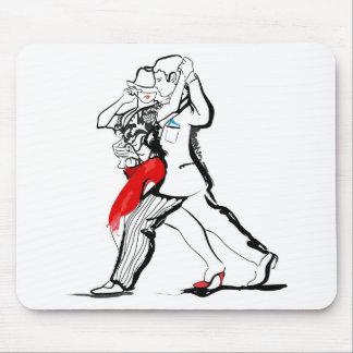 Tango Couple Mouse Pad