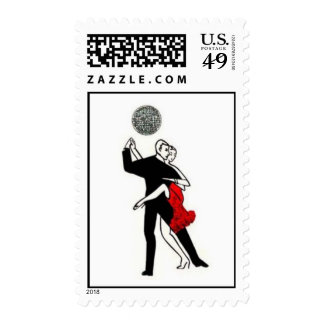 tango couple w ball stamps