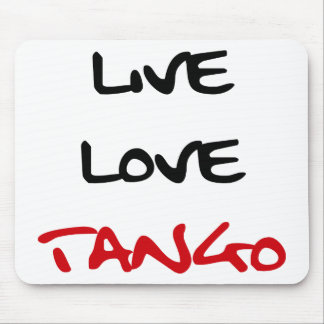 Tango Dance cool design! Mouse Pad