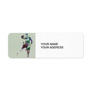 Tango Dance Custom Return Address Label