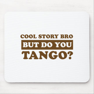 Tango dance Designs Mouse Pad