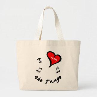 Tango Dance Items - I Heart the Tango Bags