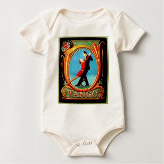 Tango Dancer Baby Bodysuit