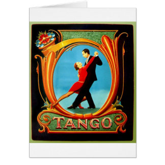 Tango Dancer Card