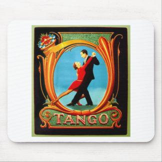 Tango Dancer Mouse Pad