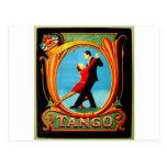Tango Dancer Postcard