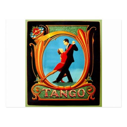 Tango Dancer Postcards