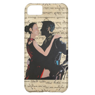 Tango dancers cover for iPhone 5C