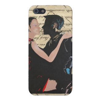 Tango dancers cover for iPhone SE/5/5s