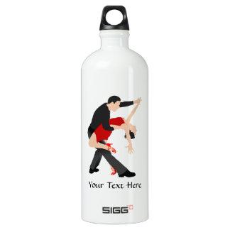 Tango Dancers (customized) Aluminum Water Bottle