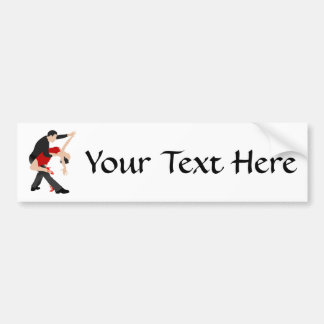 Tango Dancers (customized) Bumper Sticker