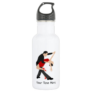 Tango Dancers (customized) Stainless Steel Water Bottle