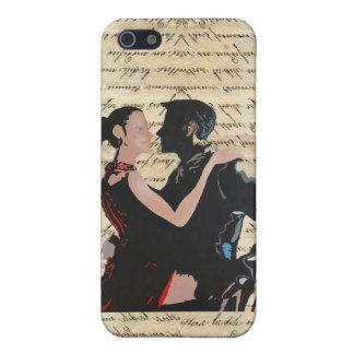 Tango dancers iPhone SE/5/5s case