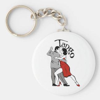 Tango Dancers Keychain