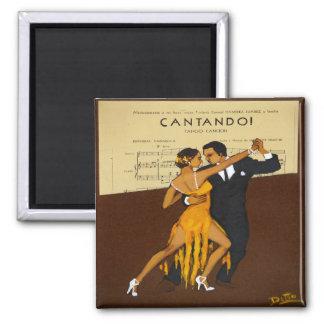 Tango Dancers  Magnet Dance Gift